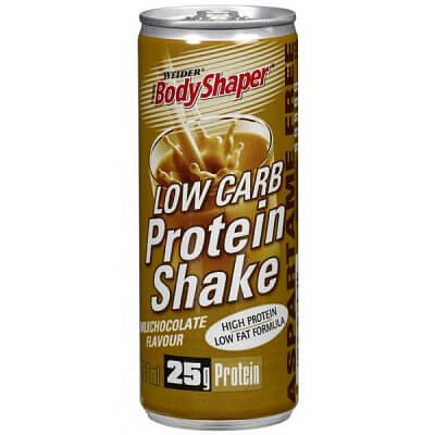 Nápoje Weider Low Carb Protein Shake, 250ml