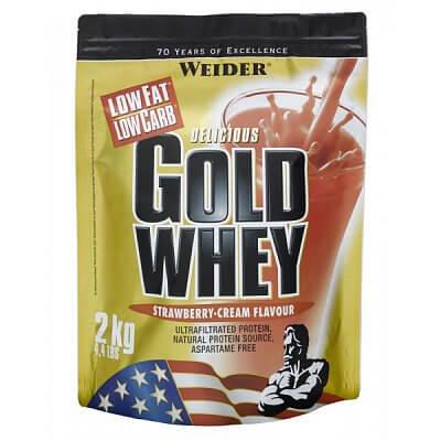 Proteiny - bílkoviny Weider Gold Whey, 2000g