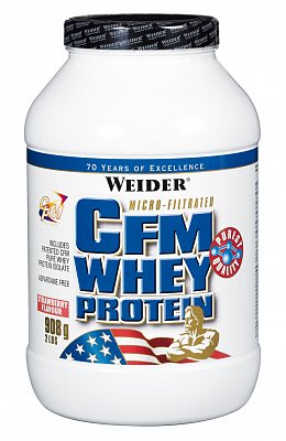 Proteiny - bílkoviny Weider CFM Whey Protein, 908g