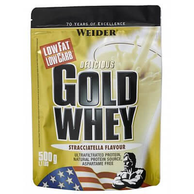 Proteiny - bílkoviny Weider Gold Whey Syrovátkový protein, 500g
