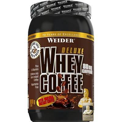 Proteiny - bílkoviny Weider Deluxe Whey Coffee, 908g