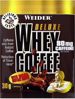Proteiny - bílkoviny Weider Deluxe Whey Coffee, 30g