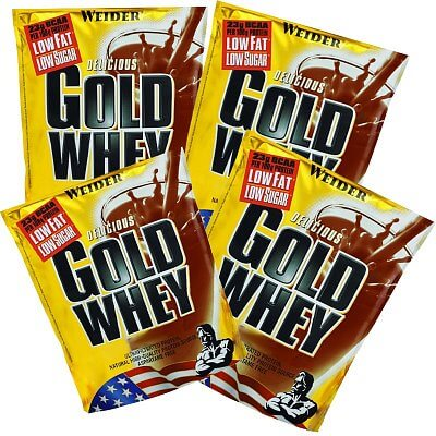 Proteiny - bílkoviny Weider Gold Whey, 15g