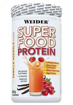 Proteiny - bílkoviny Weider Super Food Protein, 500g