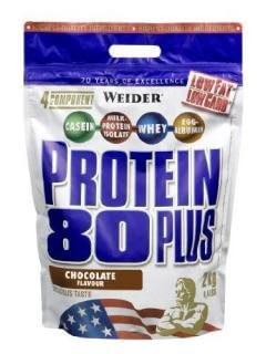 Proteiny - bílkoviny Weider Protein 80 Plus, 2000g