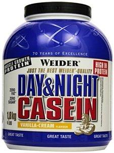 Proteiny - bílkoviny Weider 100% Casein, 1800g