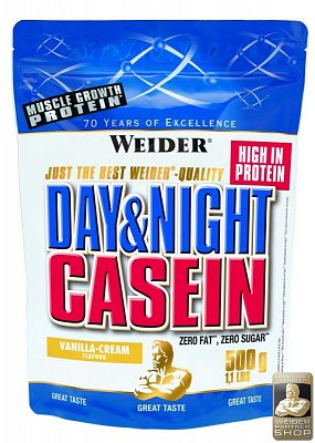 Proteiny - bílkoviny Weider 100% Casein, 500g