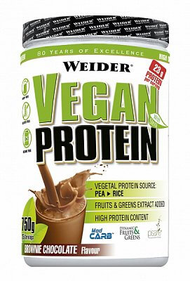 Proteiny - bílkoviny Weider Vegan Protein, 540g