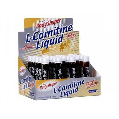 Spalovače tuků Weider L-Carnitine Liquid, 1x25ml