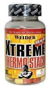 Spalovače tuků Weider Xtreme Thermo Stack, 80 kapslí