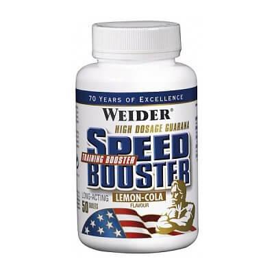 Anabolizéry a stimulanty Weider Speed Booster, 50 tablet