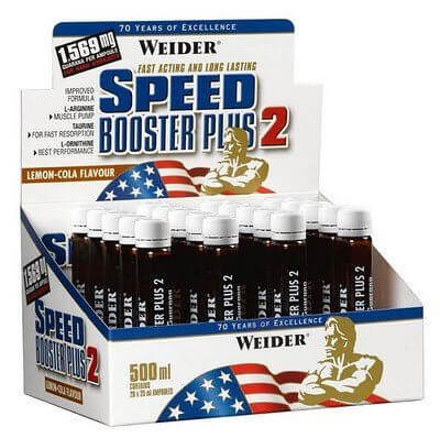 Anabolizéry a stimulanty Weider Speed Booster Plus 2, 25ml