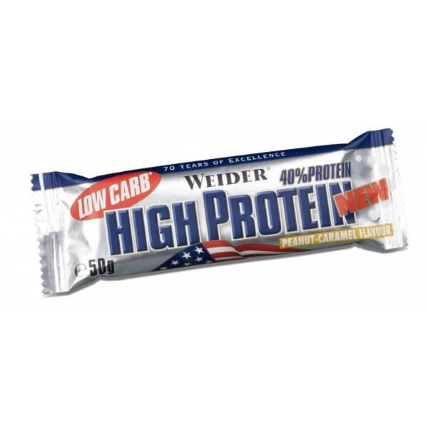 Tyčinky Weider Low Carb High Protein, 50g