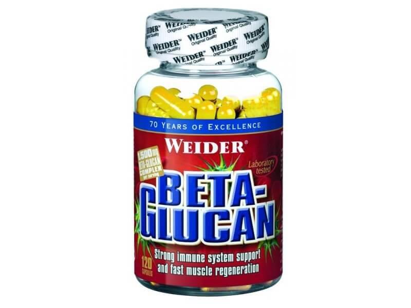 Vitamíny a minerály Weider Beta-Glucan, 120 kapslí