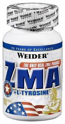 Vitamíny a minerály Weider ZMA + Tyrosine, 90 kapslí