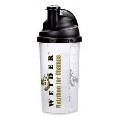 Shakery a boxy Weider Shaker 0,7l čirý