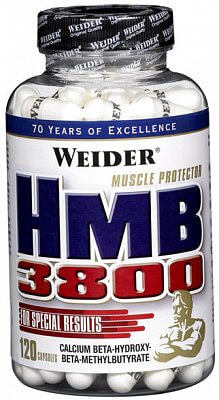 Anabolizéry a stimulanty Weider HMB 3800, 120 kapslí