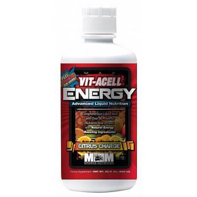 Vitamíny a minerály Max Muscle Vit-Acell Energy Tekutý vitaminový komplex, 960ml