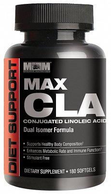 Spalovače tuků Max Muscle Max CLA, 180 kapslí