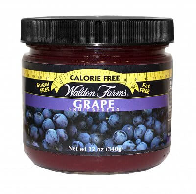 Zdravé potraviny Walden Farms Grape Fruit Spread, 340g