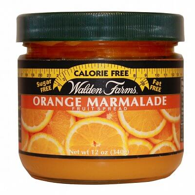 Zdravé potraviny Walden Farms Orange Fruit Spread, 340g
