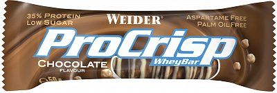 Tyčinky Weider ProCrisp 35% Whey Bar, 50g