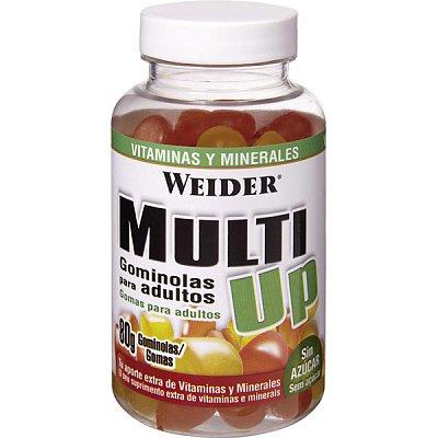 Vitamíny a minerály Weider Multi UP Želatinové bonbóny, 80 ks