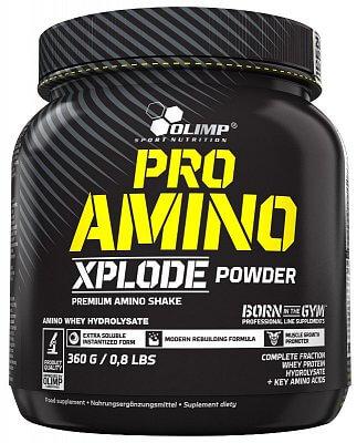 Aminokyseliny Olimp Pro Amino Xplode Powder Amino Whey Hydrolysate, 360g