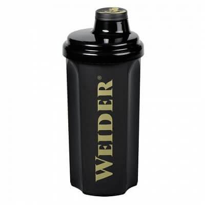 Sportovní lahve Weider Shaker 0,7l černý