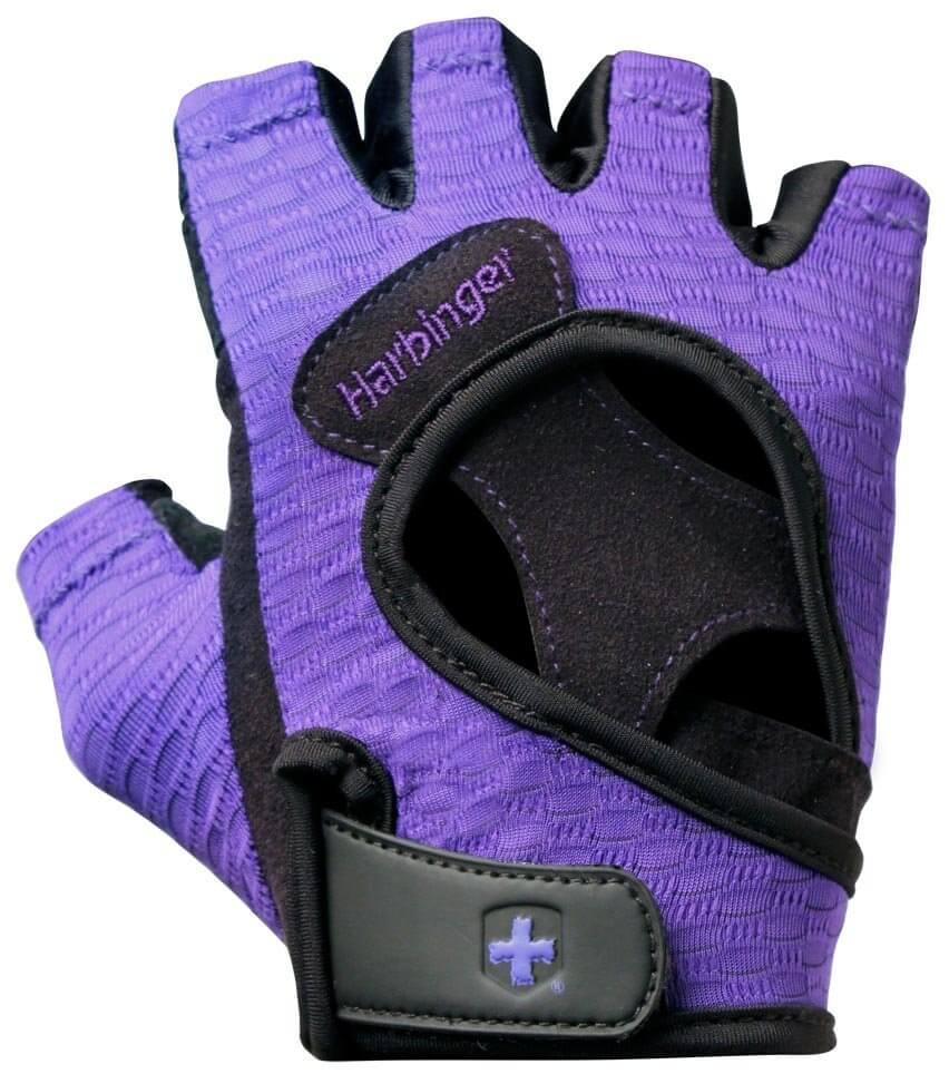 Harbinger Fitness rukavice 139 fialové  e1b3dc2b91