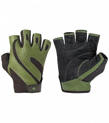Fitness pomůcky Harbinger Fitness rukavice PRO Green 143