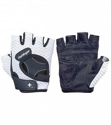 Fitness pomůcky Harbinger Dámské fitness rukavice 139 bílé