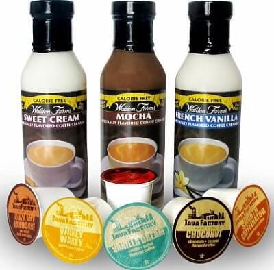 Zdravé potraviny Walden Farms Coffee Creamers, 335ml