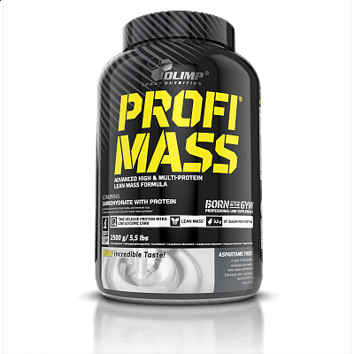 Sacharidy a gainery Olimp Profi Mass Gainer, 2500g