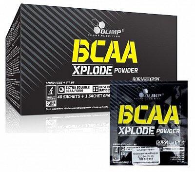 Aminokyseliny Olimp BCAA Xplode, 10g