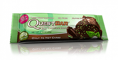 Tyčinky Quest Nutrition Quest Bar Mint Chocolate Chunk, 60g