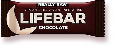 Tyčinky Lifefood Lifebar čokoládová BIO, 47g