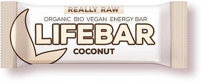 Tyčinky Lifefood Lifebar kokosová BIO, 47g