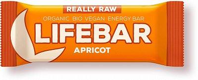 Tyčinky Lifefood Lifebar meruňková BIO, 47g