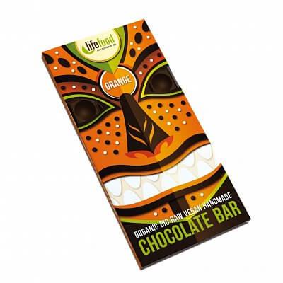 Zdravé potraviny Lifefood Chocolate pomerančová  BIO, 70g