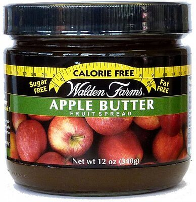 Zdravé potraviny Walden Farms Apple Butter Fruit Spread, 340g