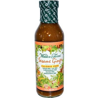 Zdravé potraviny Walden Farms Sezamovo-zázvorový dresink