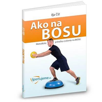 Fitness pomůcky Ako na BOSU - Příručka cvičení na Bosu