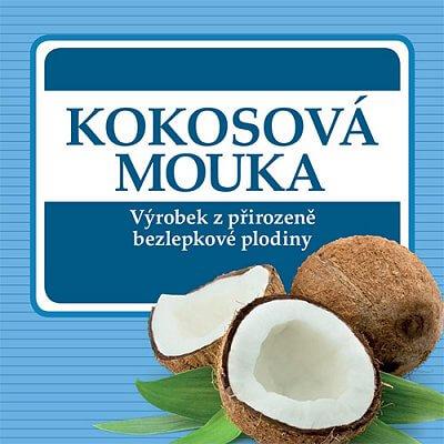 Zdravé potraviny Adveni Kokosová mouka, 250g