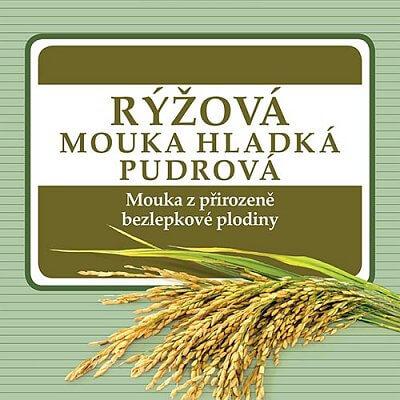 Zdravé potraviny Adveni Rýžová mouka hladká, 250g