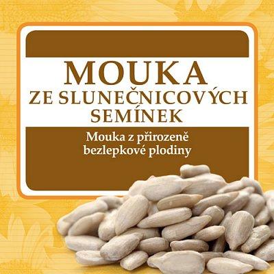 Zdravé potraviny Adveni Mouka ze slunečnicových semínek, 250g
