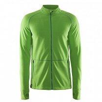 Craft Mikina Micro Fleece FZ zelená