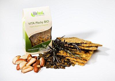 Zdravé potraviny Lifefood Vita placky rozmarýnové BIO, 100g