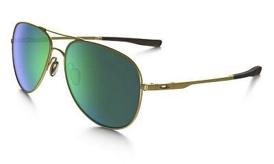 Sluneční brýle Oakley Elmont L Stn Gold w/ Jade Iridium