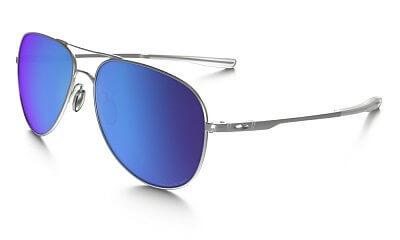Sluneční brýle Oakley Elmont L Stn Chrome w/ Sapph Irid Pol
